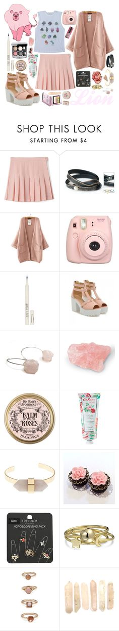 """""""Lion: Steven universe"""" by candy-thief ❤ liked on Polyvore featuring NOVICA, Nintendo, Theory, Topshop, Shoes Galore, Catherine Marche, Cath Kidston, Charlotte Russe, Bling Jewelry and Forever 21"""