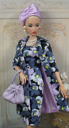 Harlow for Silkstone Barbie and Victoire Roux OOAK Doll Fashion