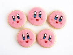 Kirby Cookies http://ifeelcook.es/kirby-cookies/