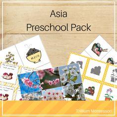 Asia A - Z Montessori Pack – Trillium Montessori