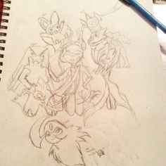 Yay! That's Sapphire Oak and her team! Absol, Gardevoir(Shiny), Blaziken, Frogadier, Aegislash, and Emolga