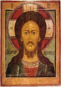 Вседержитель (оплечный) XVII Religious Icons, Religious Art, Jesus Art, Jesus Christ, Christ Pantocrator, Russian Icons, Best Icons, Byzantine Icons, Orthodox Icons