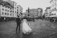 Me and my husband in Rome. Photo by the best Weddingphotographers Salt'n'Pepper Wedding portrait