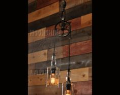 The Warehouser Industry Farm Pulley Industrial Lighting