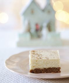 Eggnog-less Bars from Butter Celebrates by Rosie Daykin Butter Bakery, No Bake Desserts, Dessert Recipes, Best Cookbooks, No Bake Bars, Christmas Meals, Christmas Fun, Holiday Fun, Healthy Baking