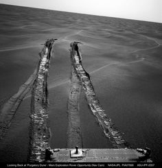 NASA's Mars Curiosity rover has been forced to alter its route after being faced with dangerous terrain. Mars Planet, Little Engine That Could, Curiosity Rover, Wheels On The Bus, The Martian, Looking Back, Dune, Planets, How To Become