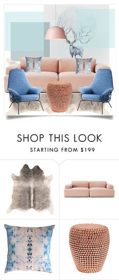 """""""Light like a cloud"""" by lidia-solymosi on Polyvore featuring interior, interiors, interior design, home, home decor, interior decorating, Muuto and Hai"""