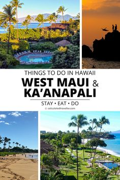 Check out our list of things to Do in West Maui and Kaanapali Hawaii. A guide for where to relax, where to shop, where to find culture, where to eat, and where to stay. #travel #Maui #Hawaii #USA #guide Beach Trip Packing, Hawaii Vacation Tips, Hawaii Travel Guide, Maui Travel, Kaanapali Beach Hotel, Kaanapali Maui, Hawaii Usa, Maui Hawaii, Big Island Hawaii