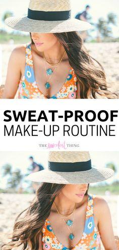 dbabb85cfb My Sweat-Proof Make-Up Routine. Sweat Proof MakeupThe Sweetest Thing BlogBeauty  ...