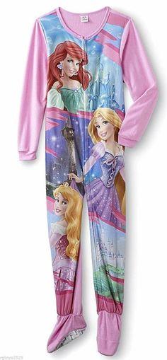 New Disney Princess Aurora, Ariel and Rapunzel Girls Blanket Sleeper Size XS 4/5 | Clothing, Shoes & Accessories, Kids' Clothing, Shoes & Accs, Girls' Clothing (Sizes 4 & Up) | eBay!