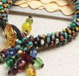 Making jewelry with Japanese braiding. Free kumihimo guide- Kumihimo Splash by Suzanne Branca