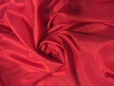 "Bemberg Lining, 100% Rayon, 45"" wide, 6 yard piece, 45"" wide, Red by PromenadeFabrics on Etsy"