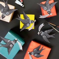 Make this adorable flying bird gift topper! Comes complete with a PDF template and SVG template for craft cutters!