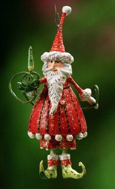 Patience Brewster Mini Dashing Santa Ornament by Patience Brewster, http://www.amazon.com/dp/B0052GBCTA/ref=cm_sw_r_pi_dp_WgW4qb03RX3ZS