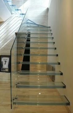 Some fantastic glass staircases giving your home the real wow factor #design  #architecture #architect