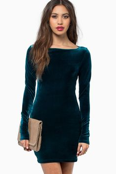 Teal Loose Cannon Dress