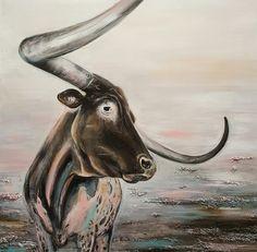 Texas Longhorn by Lovaartist