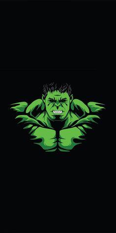 phone wall paper for guys Hulk, angry green guy, minimal wallpaper Avengers Cartoon, Marvel Avengers Movies, Hulk Marvel, Marvel Art, Marvel Characters, Marvel Phone Wallpaper, Hero Wallpaper, Arte Cholo, Iron Man Art