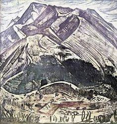 Valias Semertzidis, Mountain Ataviros on the island of Rhodes, 1974 Mount Everest, City Photo, Greek, Island, Mountains, Rhodes, Nature, Travel, Naturaleza