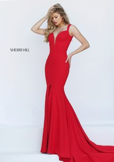 Sherri HIll #50125 in red, navy, or black