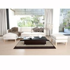 Brookstone $198 Monroe Leather Top Coffee Table with Hidden Storage Espresso and Black Leatherette