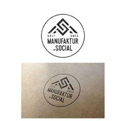 Freelance Job - Erstelle ein Logo f眉r handgefertigte (manufaktur) und soziale Produkte. by _Falcon_