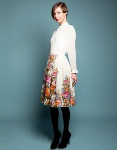 Skirt Made From Woolen Shawl