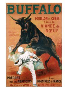 Buffalo Bouillon Stampa giclée