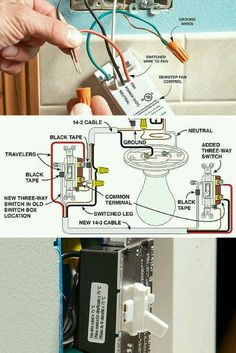 How to wire a switch with multiple lights lighting pinterest wiring switches learn how to replace and wire switches and dimmers with tips to work safely and save money cheapraybanclubmaster Images