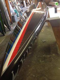 "Used King's 14x24"" Raceboard with Custom Vitamin Blue Bag  in Virginia #usedsups $2100"