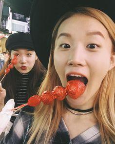 """민정 김 on Instagram: """"🍡 톡!"""" • Instagram Pepperoni, Dancers, Pizza, Food, Essen, Dancer, Meals, Yemek, Eten"""