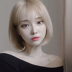 Fall requires more careful management! I received Excelx and Fraxel dual, but I'm sick but this time I'm so satisfied. - New Site Pretty Korean Girls, Cute Korean Girl, Cute Asian Girls, Beautiful Asian Girls, Korean Haircut, Korean Short Hair, Red Hair Korean, Cute Kawaii Girl, Haircuts For Medium Hair