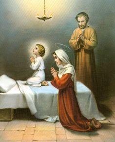 Jesús, José y María con vos descanse en Paz el Alma mía