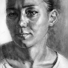 #Art #artist #Semenchuk #Togliatti #portrait #painting #graphic
