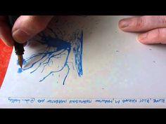 Papier Plume Forget-Me-Not Blue