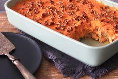 Zuurkoolschotel met kipshoarma en zoete aardappelpuree - SKINNY SIX