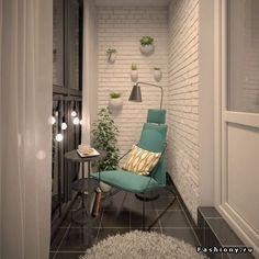 Идеи для уютного балкона