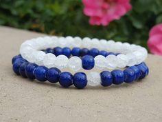 Couples Bracelets. Friendship Bracelets. His by PieceOfInspiration