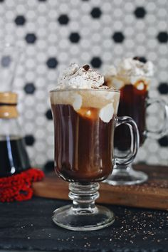 Bourbon Pecan Coffee Cocktail Recipe by Kristin of Dine X Design created exclusively for Discover, a blog by World Market #DiscoverWorldMarket