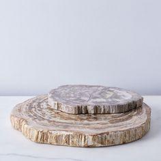 Petrified Wood Serving Board on Food52