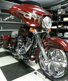 Harley-Davidson : Touring 2013 CUSTOM HARLEY DAVIDSON STREET GLIDE 200 REAR TIRE, 103 MOTOR ABS SECURITY