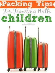 Pin and reference for our next trip! Packing tips for traveling with the kiddos!