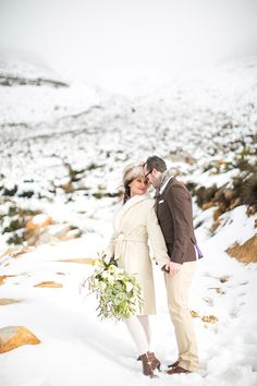 South African winter engagement session, photo by Adene Photography http://ruffledblog.com/south-african-winter-engagement-session #engagement #southafrica #mountains