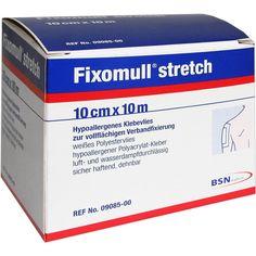 FIXOMULL stretch 10 cmx10 m:   Packungsinhalt: 1 St PZN: 04539523 Hersteller: BSN medical GmbH Preis: 26,52 EUR inkl. 19 % MwSt. zzgl.…