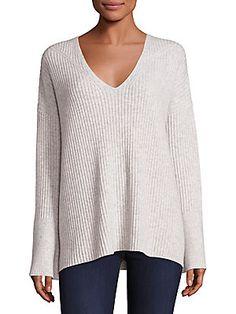 Rag & Bone Phyllis Cashmere Bell Sleeve Sweater
