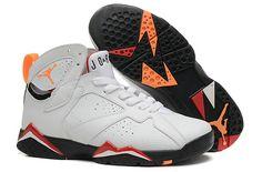 new product d915c 377a9 2018 Shop Air Jordan 7 VII Retro White Cardinal Red Black Bright Citrus  304775 104 Size