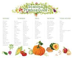 Seasonal Produce Guide