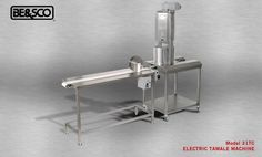 The the state-of-the-art design of the Electric Tamale Machine allows high tamale production, up to 200 dozen tamales an hour. Increase your tamale production and decrease your labor cost. Find out more: http://www.bescomfg.com/pages/etamale.php