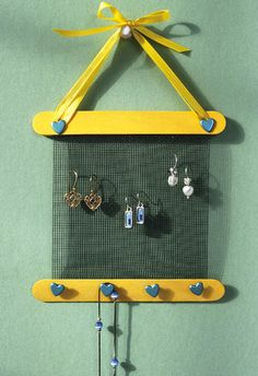 Earring and Necklace Holder - Crafts 'n things