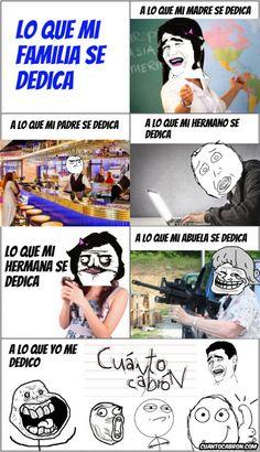Profesiones en mi familia        Gracias a http://www.cuantocabron.com/   Si quieres leer la noticia completa visita: http://www.skylight-imagen.com/profesiones-en-mi-familia/